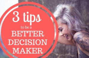 decision maker header