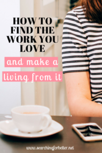 How To Find The Work You Love & Make A Living From It
