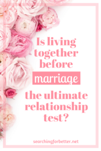 living together before marriage