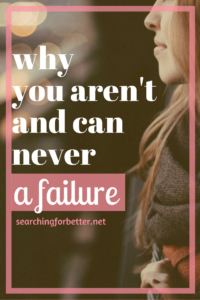 never be a failure