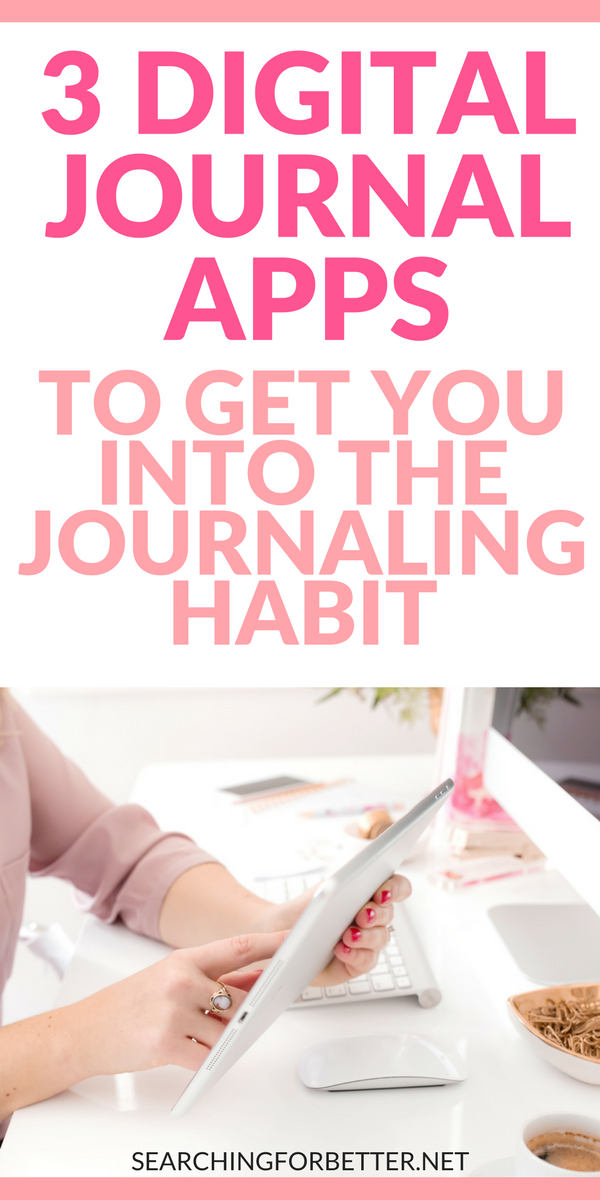 A #digital #diary is a great way to make #journaling a habit (especially if you're all about that travel #life). Whether you're an android or iPhone user, these digital #journal #apps are a seriously easy way to keep all your important notes & writings on your phone! #planner #planneraddict #writing