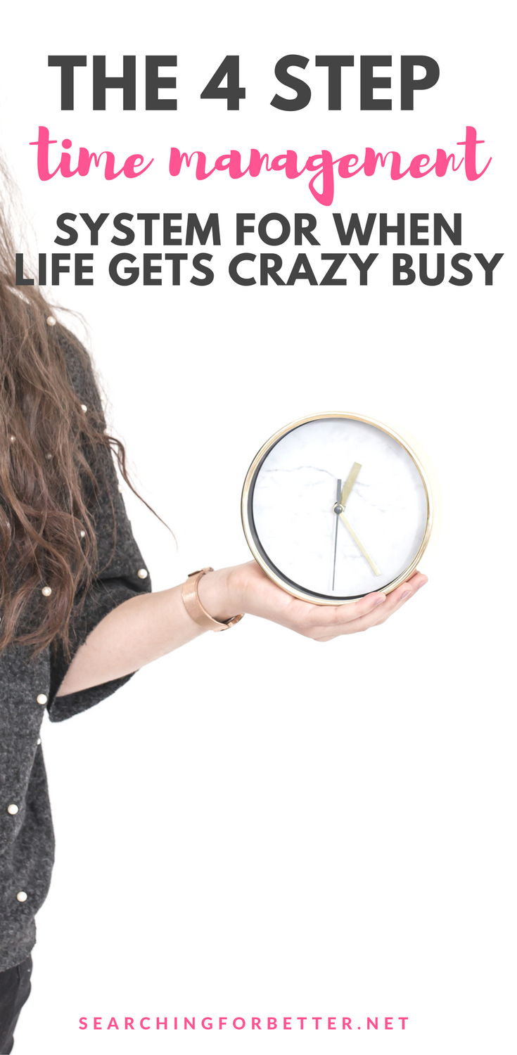 Time Management Tips For When Life Gets Crazy Busy