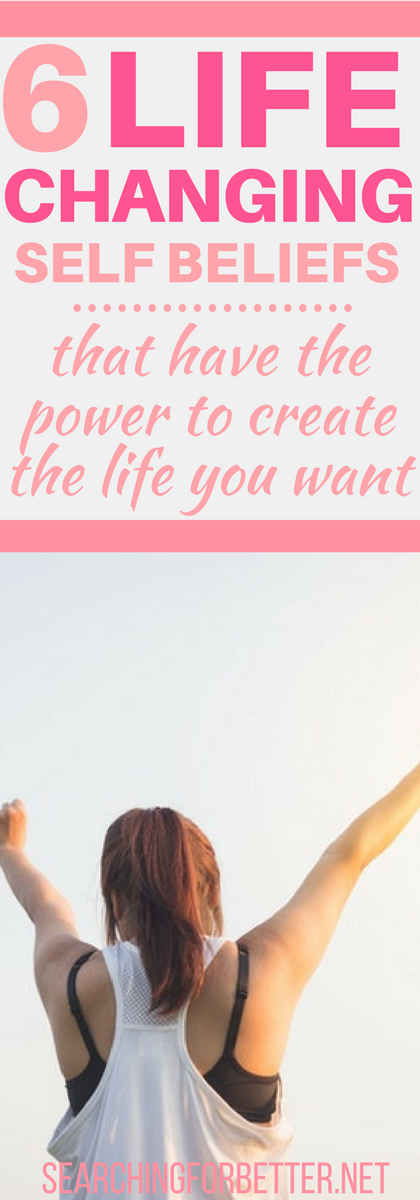 6 Empowering #personaldevelopment Self Beliefs That Have The Power To Change Your #Life. These are great values to have more belief in yourself! They'll literally change the way you think and make you feel more #inspired and #motivated to make your #dreams come true. #bossbabe #bossmom