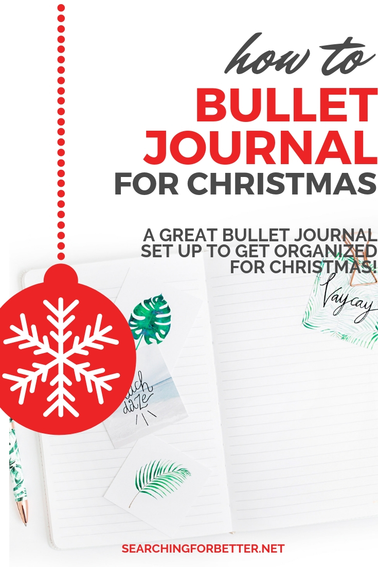 How To Set Up A #Christmas Bullet Journal. Such great Christmas #bulletjournal #ideas in these video tutorials! Learn some great layouts and spreads to get organized for all those Christmas #gifts. #xmas #holidays #organized #organize #gifts