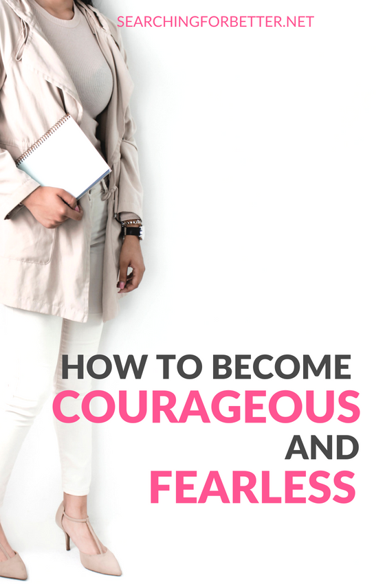 How to finally find the #courage, #motivation and #inspiration to change!