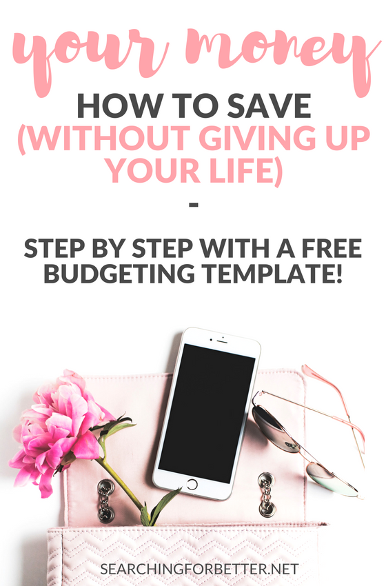 Living on a budget doesn't have to be boring or mean we don't need to have a life! These simple steps using this #free #template is great to #budget your #money (and it's easy for beginners to use too!). It's basic but all you need to manage your money weekly, monthly or even yearly! #organized #organize #finance #savemoney #save