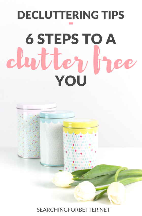 Feeling overwhelmed by the clutter? Declutter, destress and organize your home (and life!) with these simple steps and #ideas on how to declutter and create a more minimalist lifestyle for yourself. Comes with a checklist printable of categories based on the KonMari method! #declutter #house #home #organize #minimal #minimalism #clean