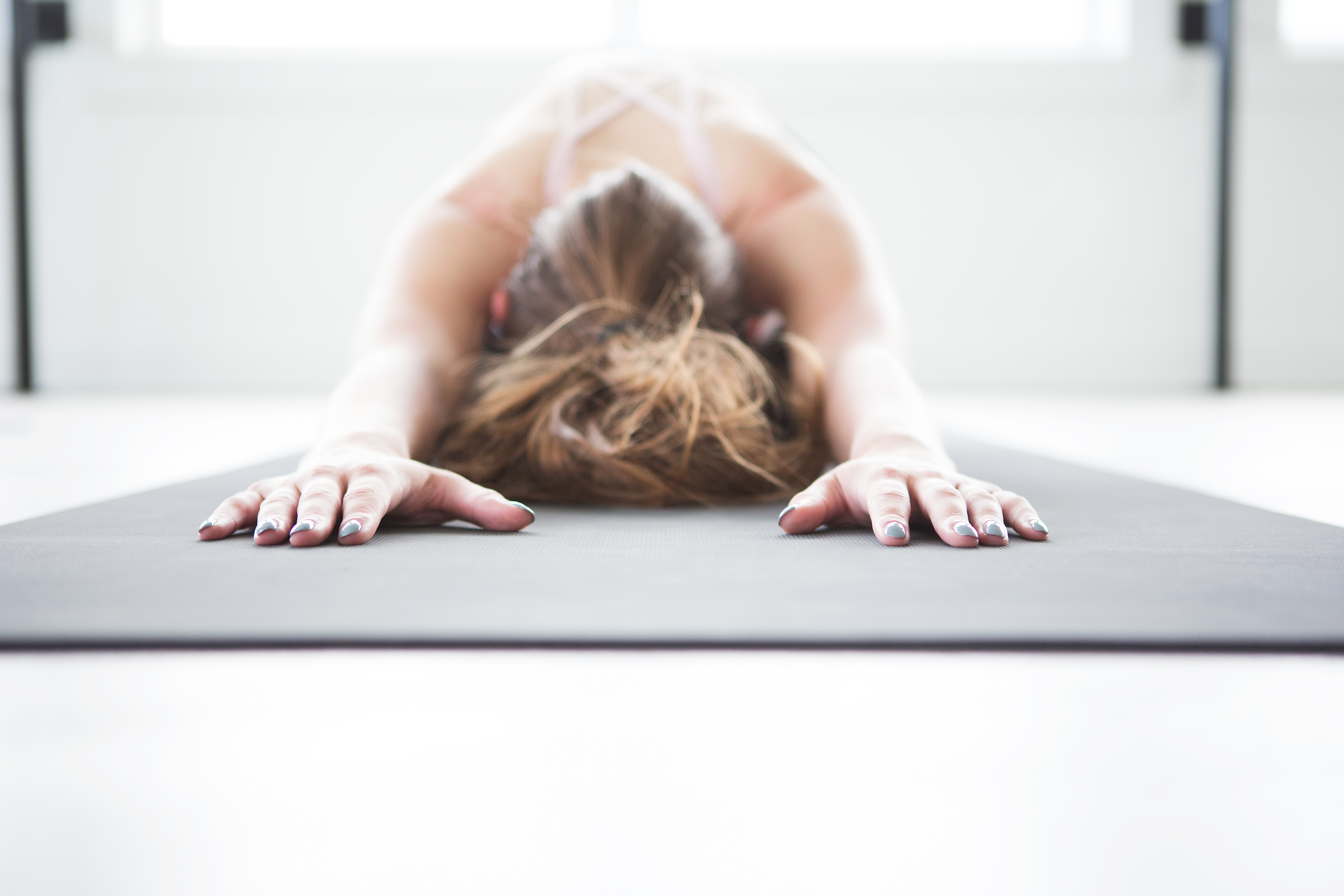 These YouTube videos are simple ways for beginners to start #yoga to help relieve feelings of #anxiety. They're simple routines that you can practice at home morning or night to help decrease your stress. #yogainspiration #yogaeverydamnday #mentalhealth #mindset #healthy #healthyliving #healthylifestyle