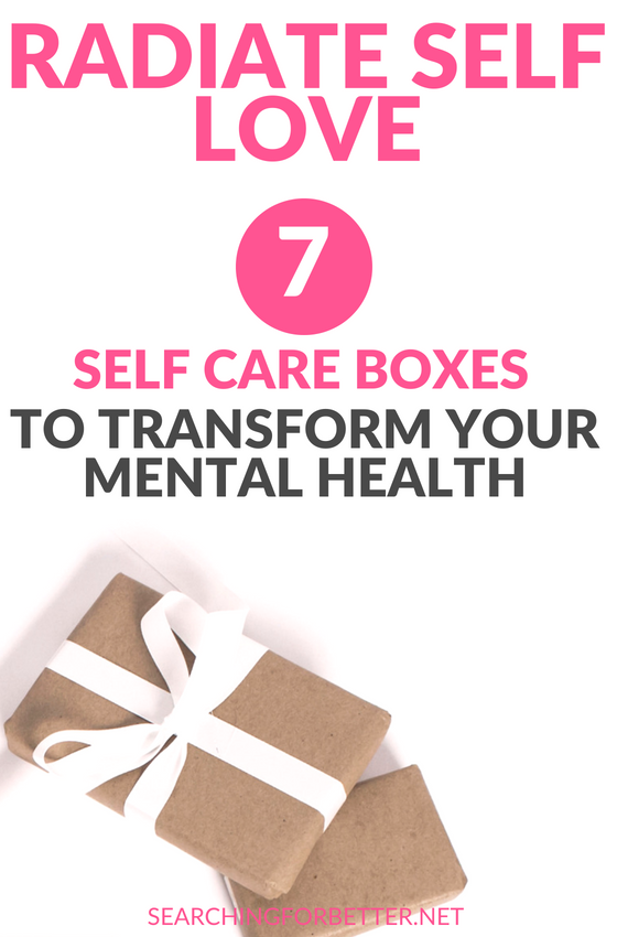 Amazing #selfcare kits to help the busy #bossbabe or #momboss practice #selflove. These boxes also double as a great #gifts for friends. They're thoughtful gift #ideas for people that struggle with their #mentalhealth and #anxiety. #mindset #women #healthy #healthylifestyle #lifestyle