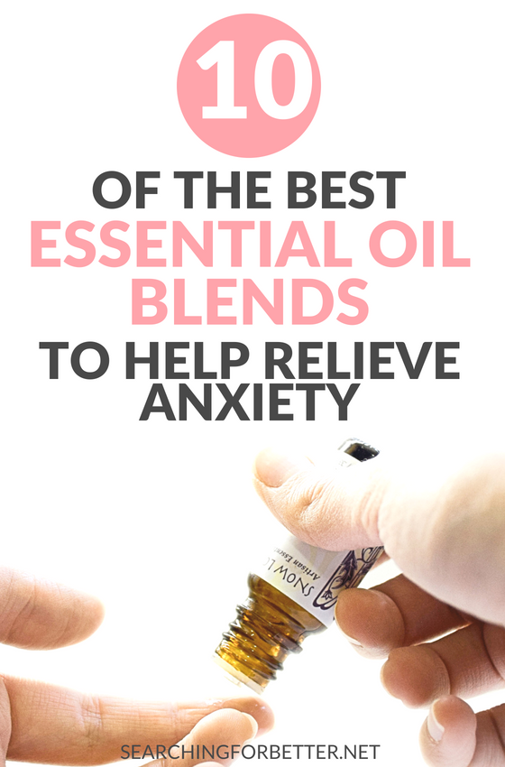 10 Essential Oil Recipes For #Anxiety and Panic Attacks. Life saving essential oil blends to help naturally decrease anxiety and and #stress. The best part is most of these #selfcare recipes only have 3 ingredients! #natural #healthy #healthylifestyle #wellbeing #mindset #mentalhealth #health #essentialoils