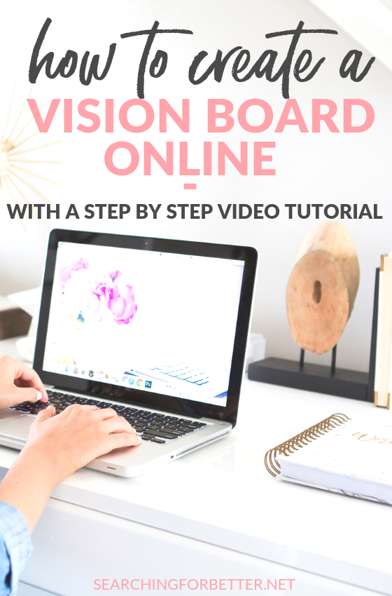 Get some #inspiration and #motivation to create a digital DIY vision board! This is a seriously great read with an easy tutorial on how to make a vision board. There's also a really good story on how the law of attraction can really work! And great tips on how to choose the right pictures for your vision board. #motivation #inspiration #goalsetting #goals #visionboard #mindset