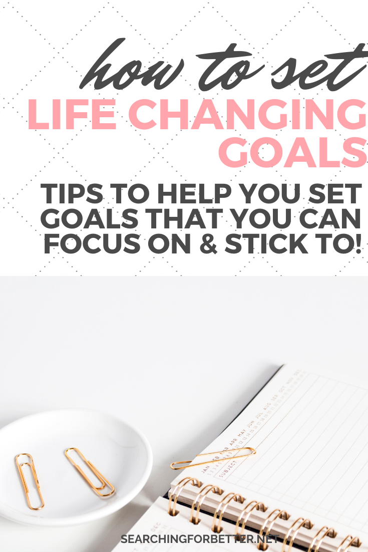 How To Stay Focused & Stick To Goals // Goal setting can hard. Sometimes we can struggle to stick to your life goals. In this podcast and post learn how to set life changing goals, how to stick to them and stay motivated. This list of tips is super easy to follow and can help you to make the most of your goals in 2020. #goalsetting #goals #motivation #focus #personaldevelopment #selfhelp