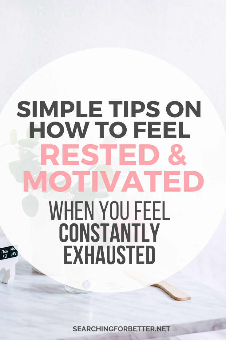 How To Stop Feeling Exhausted, Lazy & Unmotivated. Whether you're a student or you're at work, these simple tips can help you to figure out why you're feeling constantly tired and depressed in your life. They're great to help you stop feeling stuck and lazy. #mindset #motivation #goals #mindset #personalgrowth #selfhelp