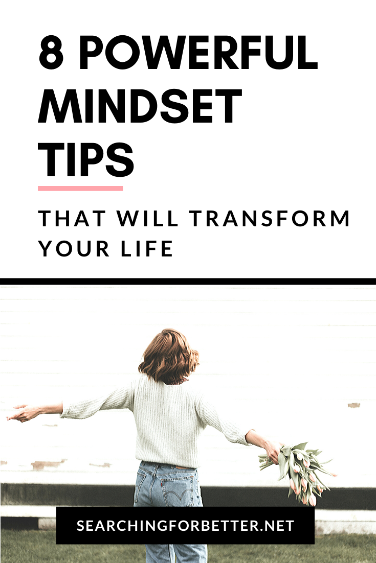 How To Have A Positive Mindset. These tips give you inspiration and motivation on how to change your mindset to be more positive. These ideas can be used throughout your life including work to help you develop more empowering and positive thoughts. #mindset #tips