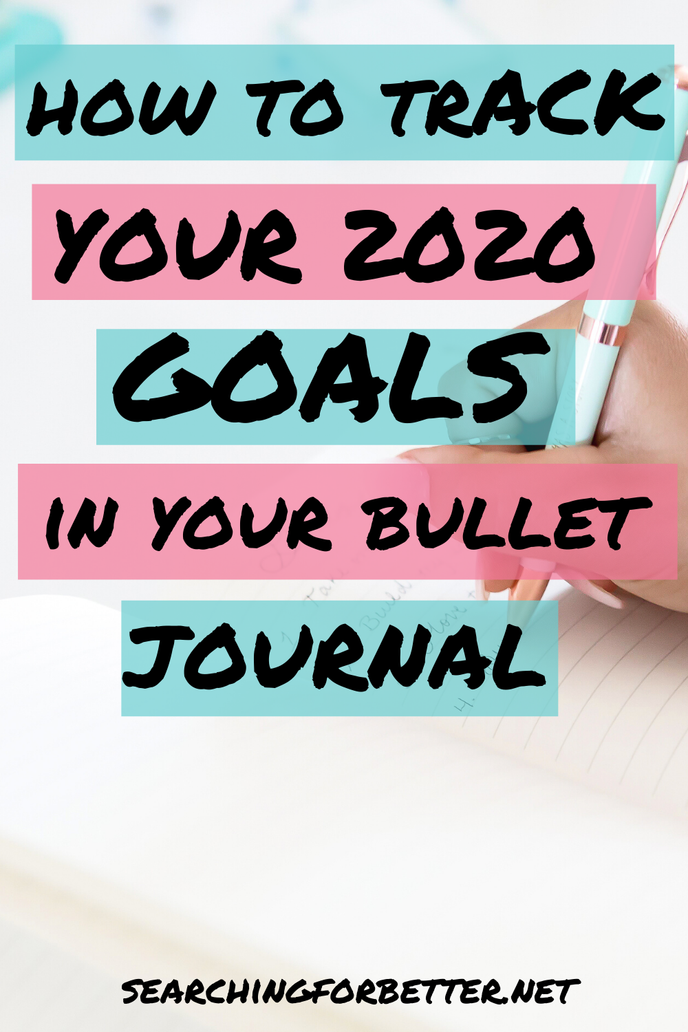 10 Bullet Journal Layouts For Your 2020 Goals. These ideas are great to help you track your yearly, monthly, weekly and daily life goals. They give you great ideas on how to use your bullet journal for goal setting. The layouts are easy to use and will help you create your best life in 2020!