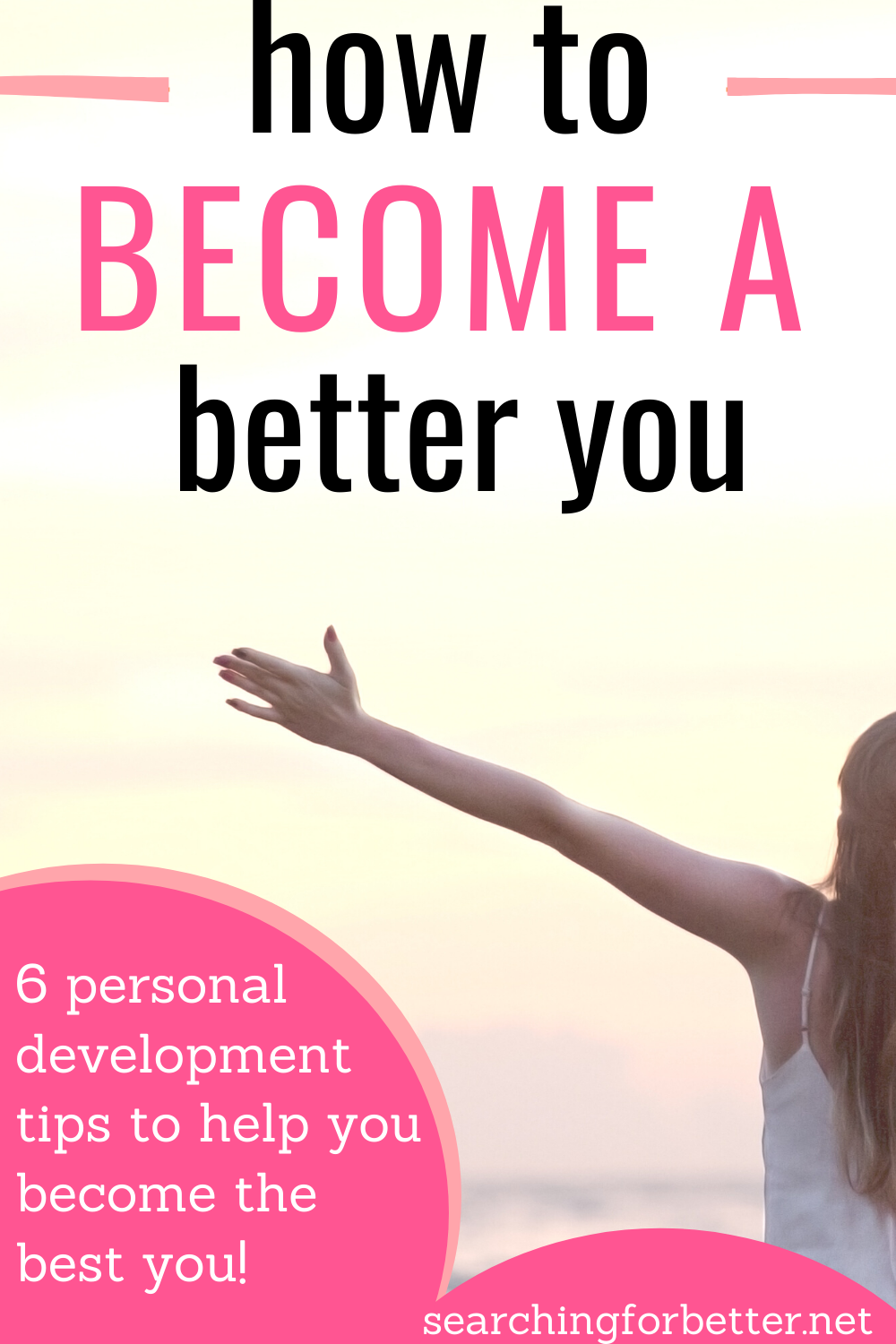How To Become A Better Person. Learn how to be the best version of you! This is 6 ways to be the best version of you with advice from one of the best self help and personal development leaders ever!