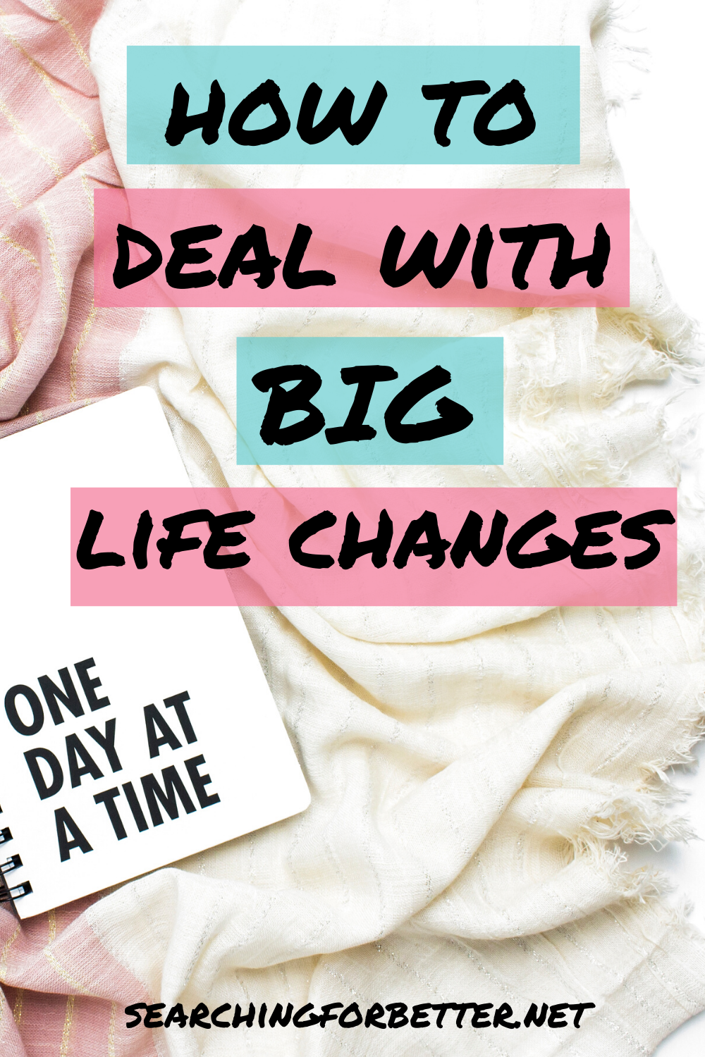 How To Deal With Big Life Changes. These simple tips are ways to help you cope with stress, anxiety and all sorts of emotions during big life changes. These tips are great for women who are struggling to deal with changes in their life - big or small!