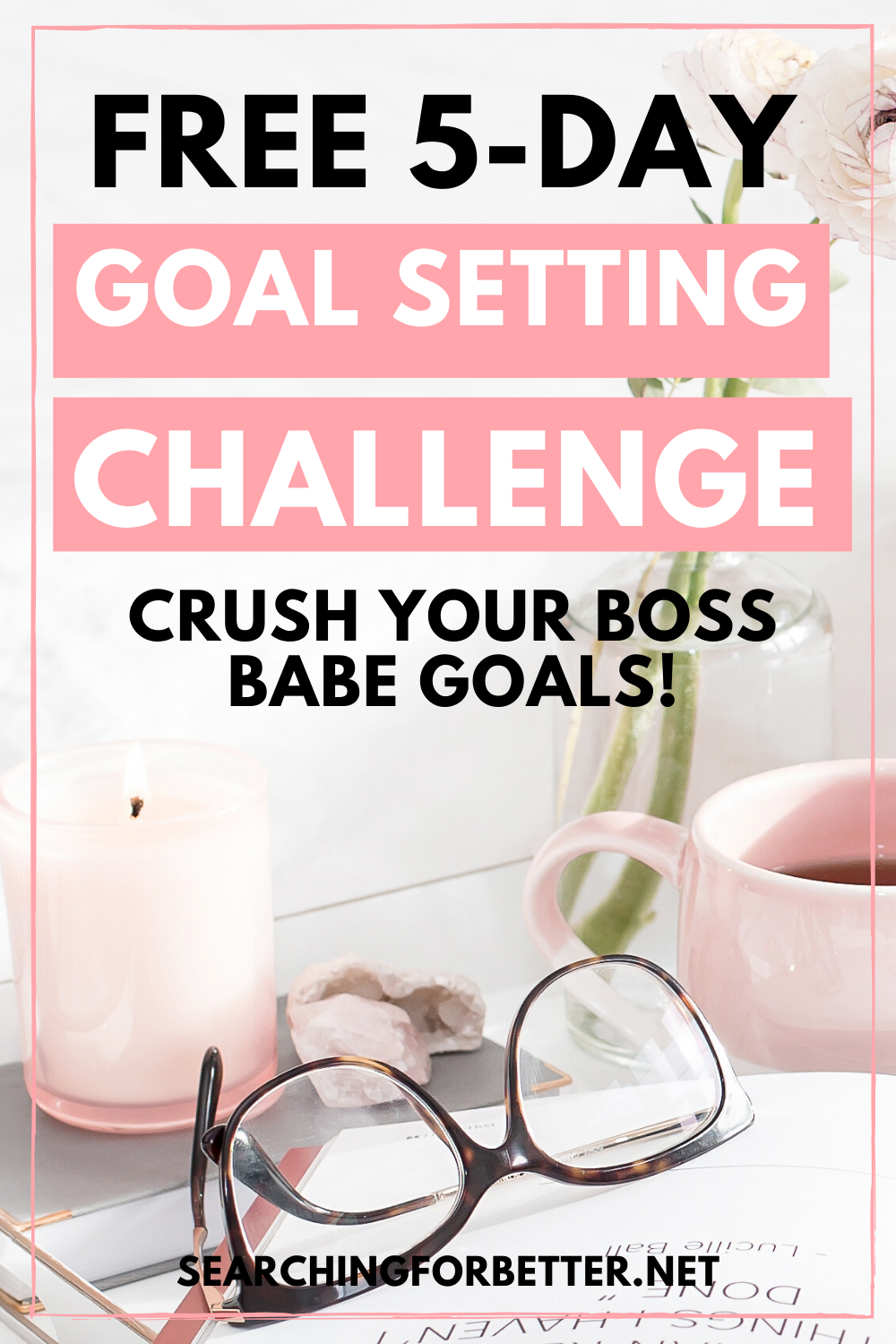 5 5 Day Goal Setting Challenge. This challenge helps you with goal setting and goal planning for all your 2020 goals. It comes with free printable worksheets to help you reach your life goals!