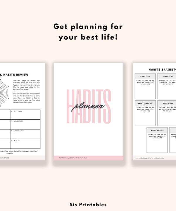 Habit Planner Tracker 1