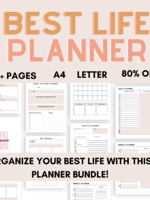 Best Life Planner Pack