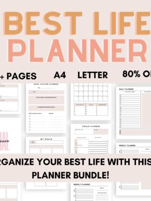 Best Life Planner Pack