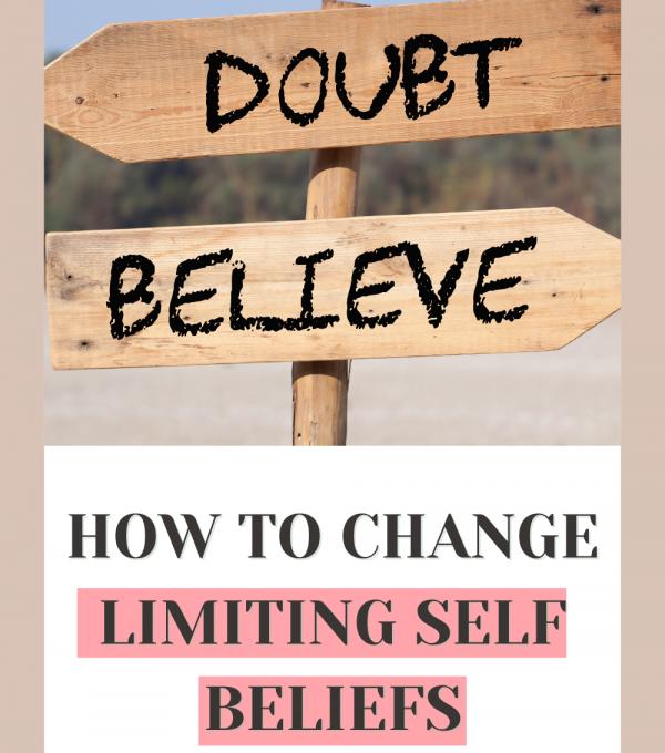 change limiting self beliefs 1
